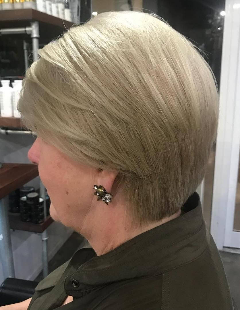 Blonde Hairstyles for Women Over 50