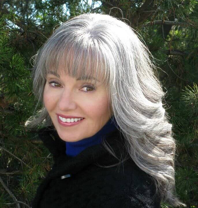 Gray Hairstyles for Women Over 50k