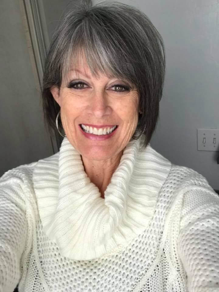 50 Beautiful Gray Hairstyles For Women Over 50
