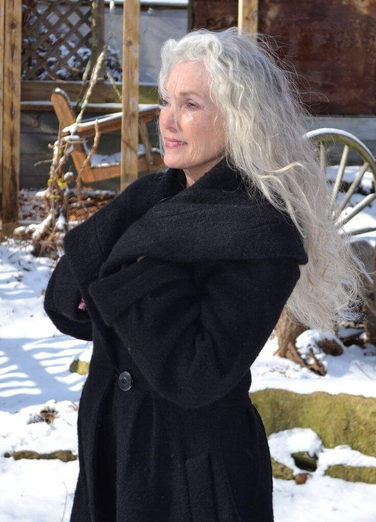 Gray Hairstyles for Women Over 50