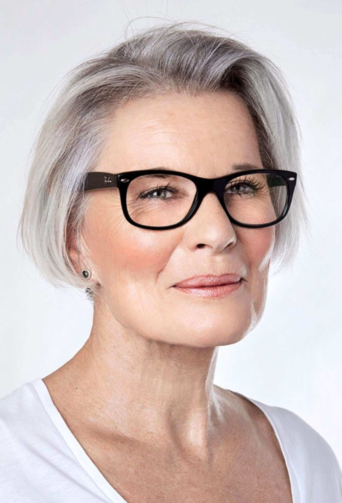 60 hairstyles for women over 50 with glasses� hairdo hairstyle