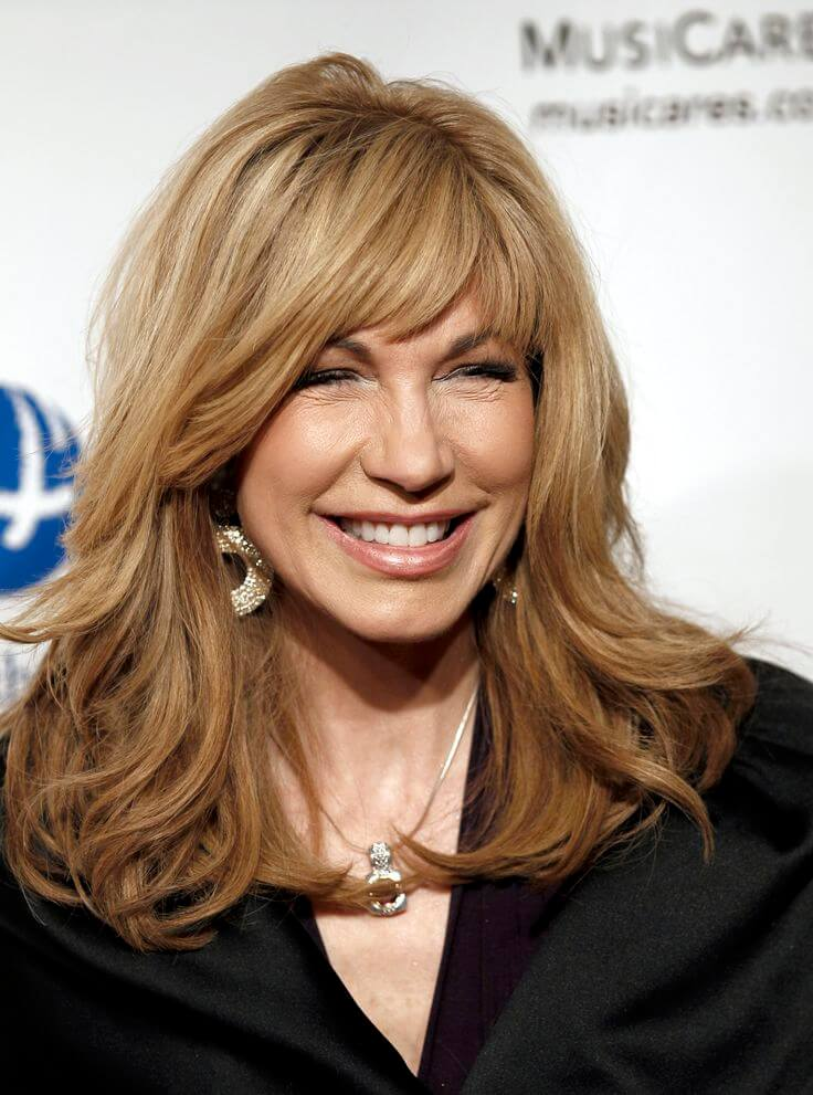 Layered Hairstyles for Women Over 50e