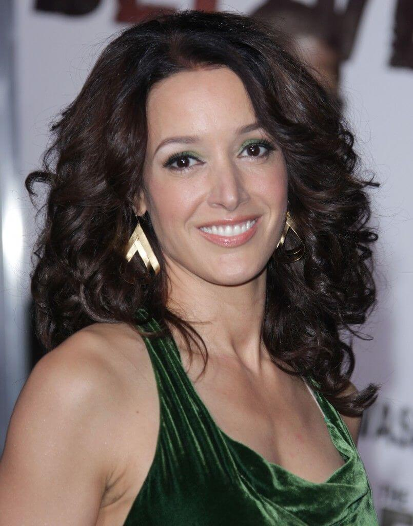 Medium Curly Hairstyle With Black Hair Color