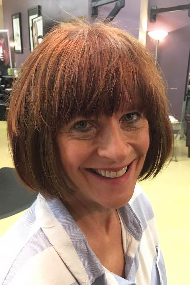 Sassy Hairstyles for Women Over 50