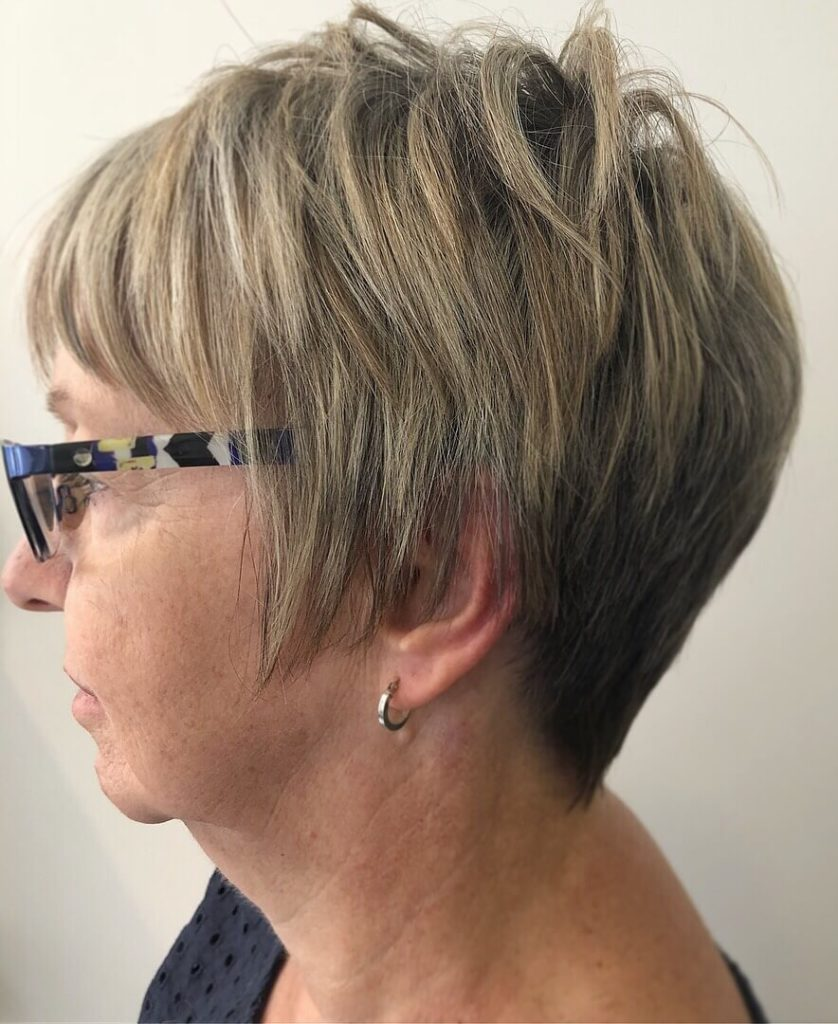 Short Hairstyles for Women Over 50