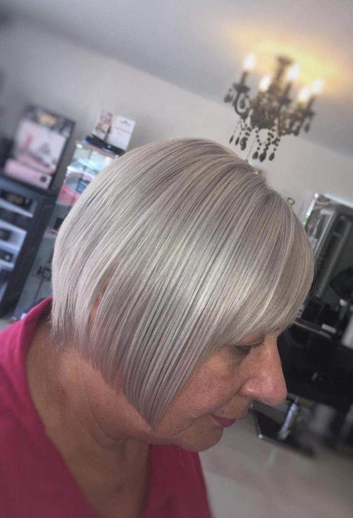 Silver Hairstyles for Women over 50