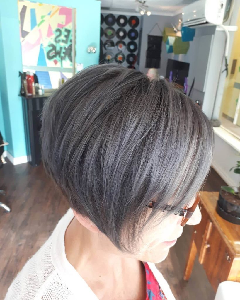 Pixie layered hairstyle