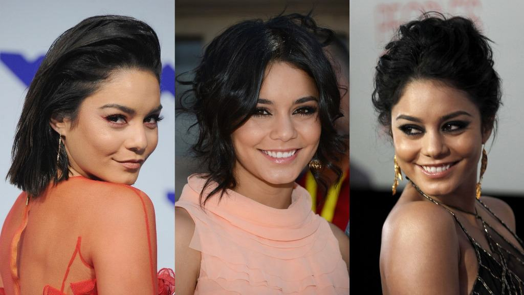 Hairstyles Aced by the Actress-Singer Vanessa Hudgens