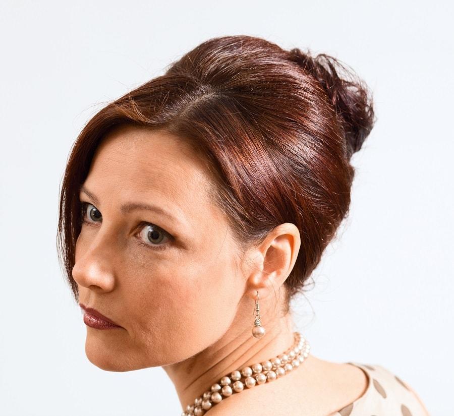 best updo styles for women over 50