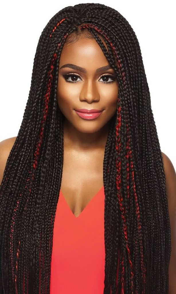 Box Braids with Xpression Hair