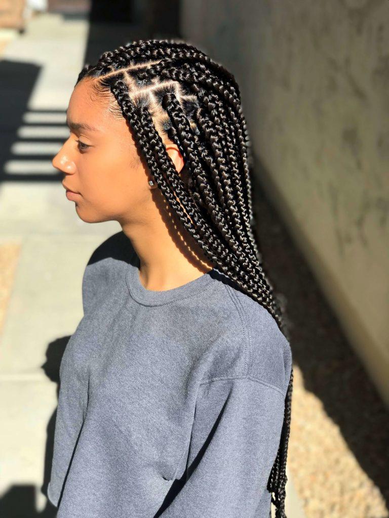 Box Braids for Light Skin
