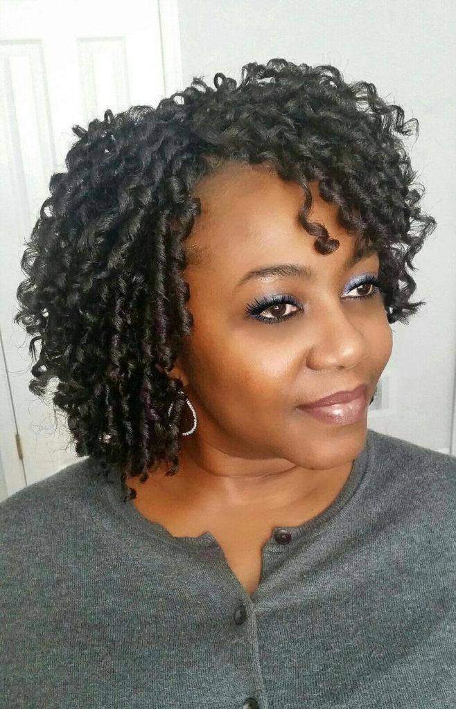 Crochet Braids with Natural Hair