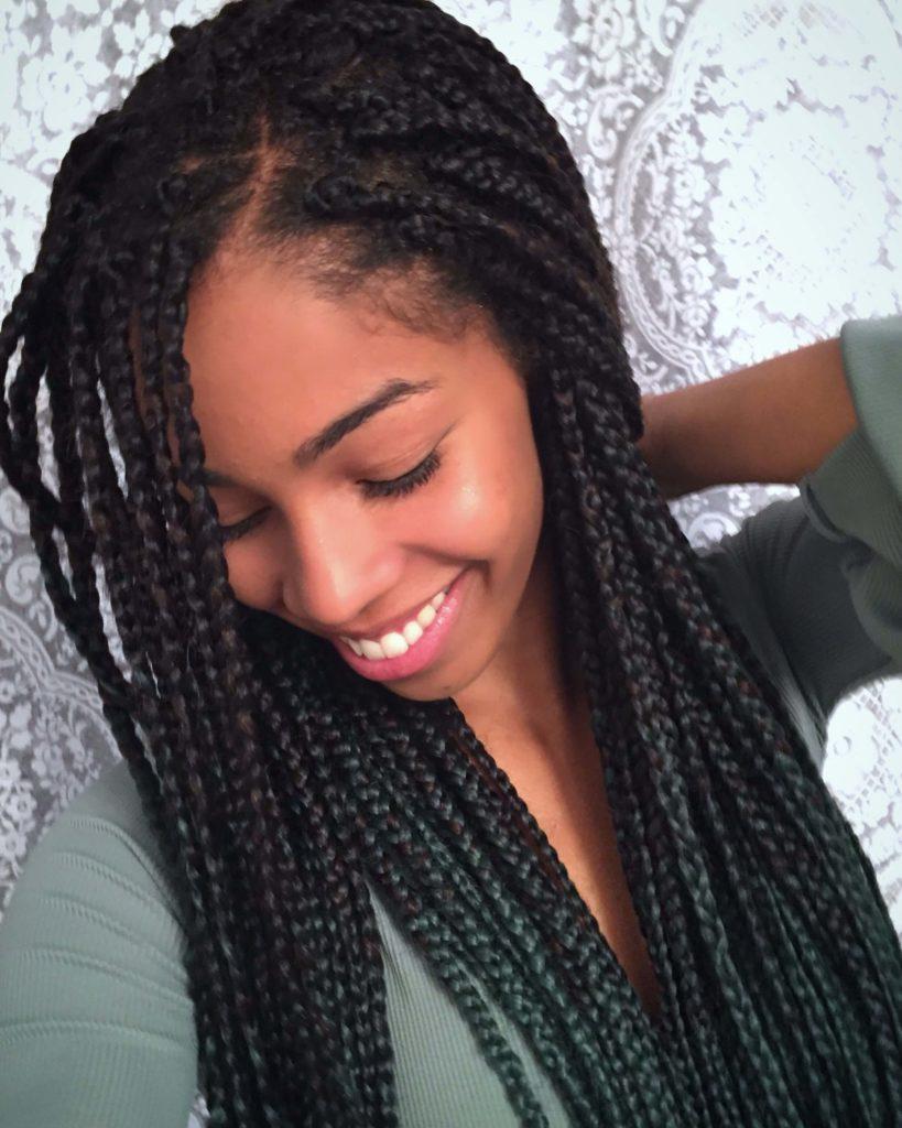 African American Box Braids