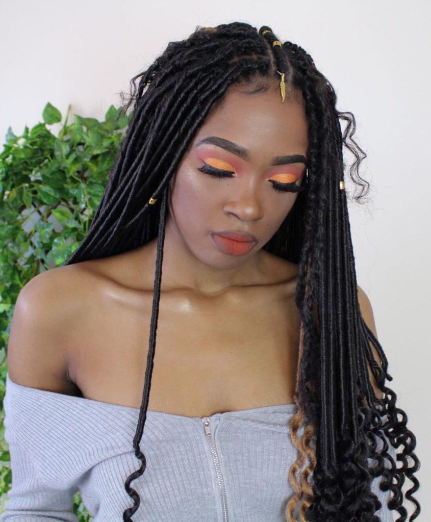 Goddess Crochet Braids