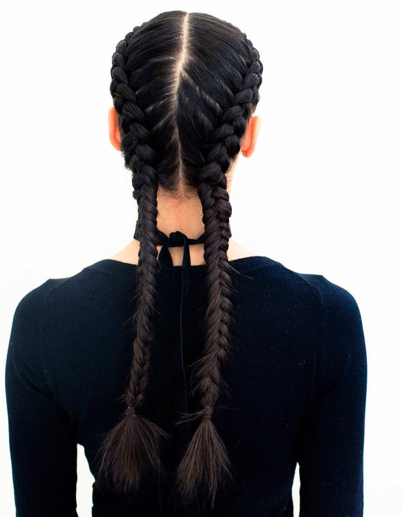 Double Dutch Cornrow Braids