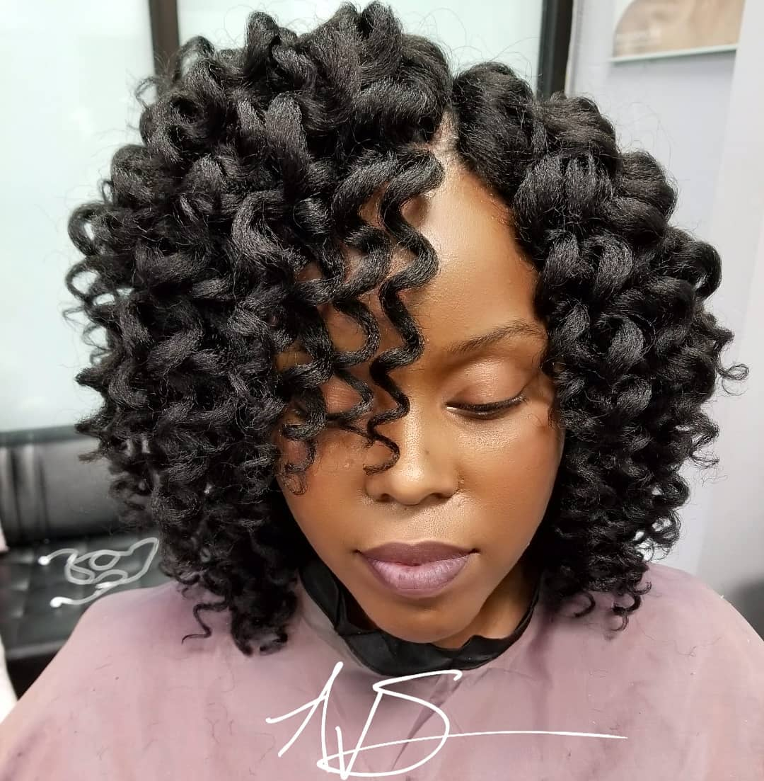 Cozy Deep Crochet Braids