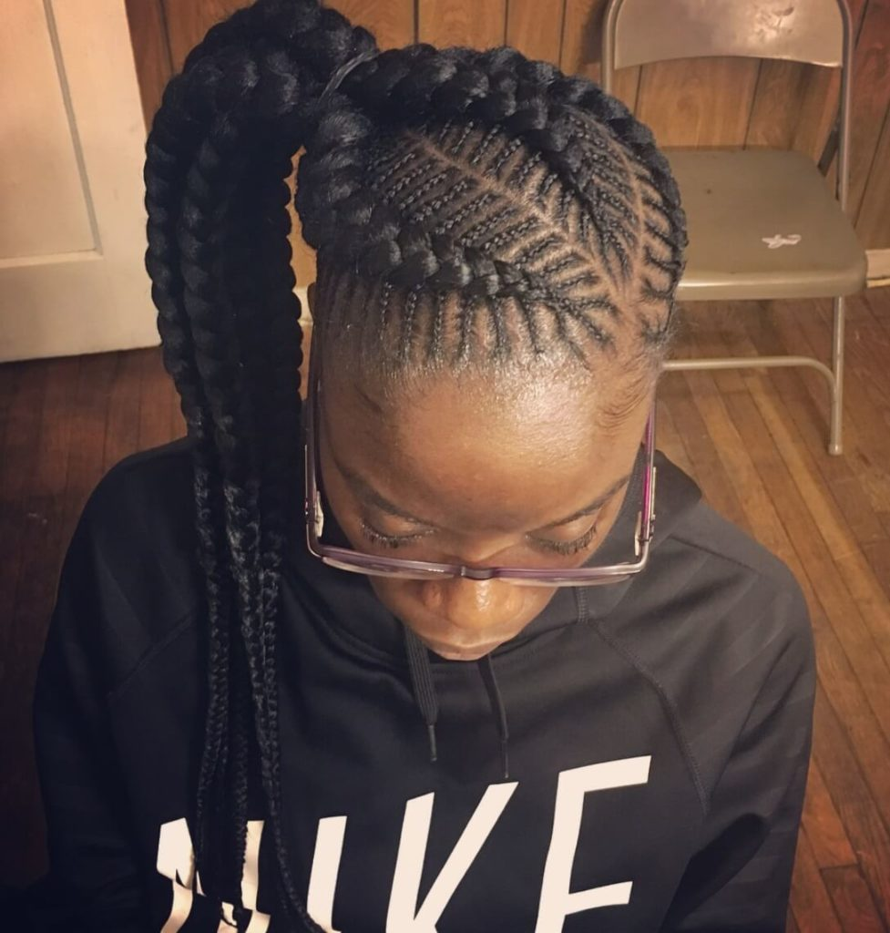Fishbone Cornrow