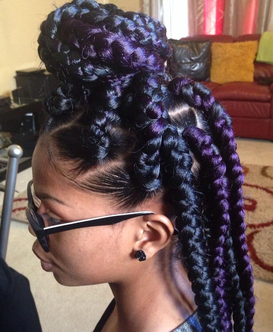 25 Stunning Goddess Braids Hairstyles