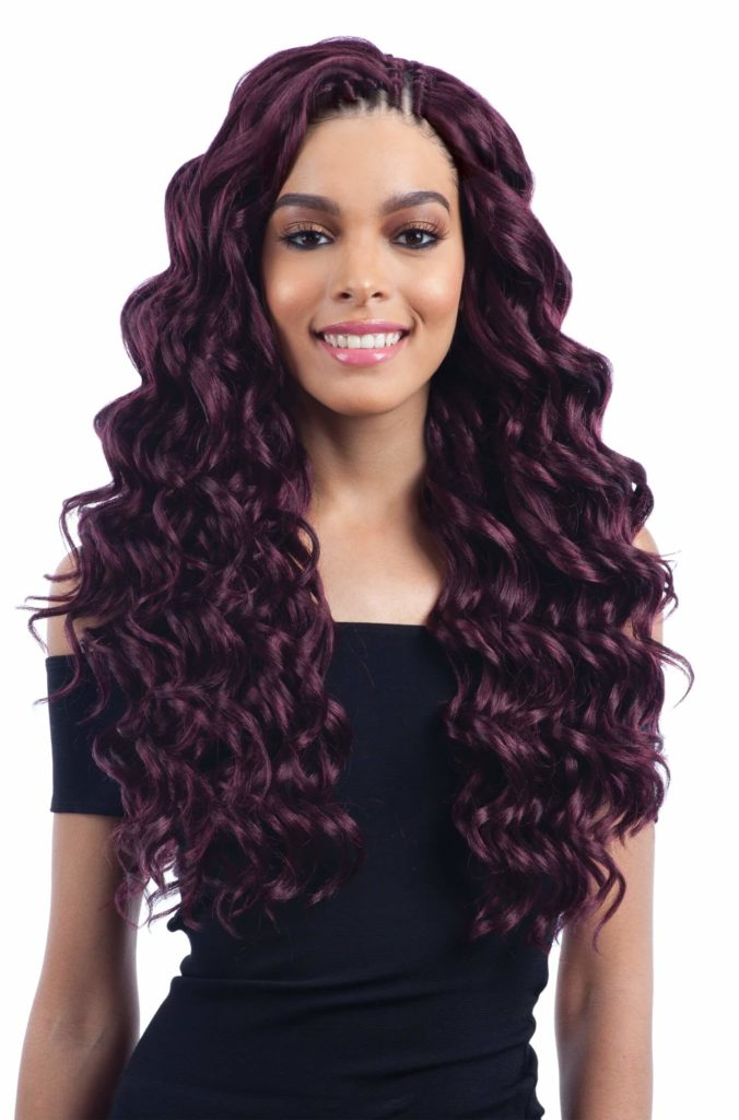 Ocean Wave Crochet Braids