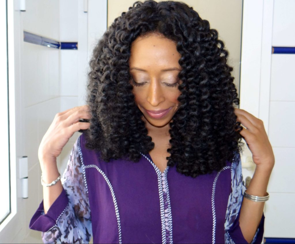Flexi Rod Crochet Braids