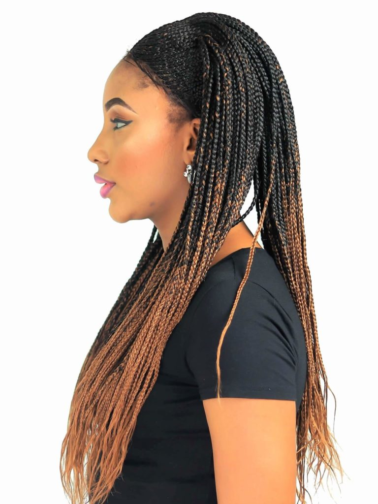 Ombre Cornrow