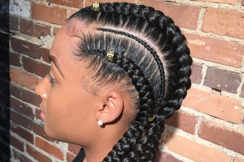 Feed In Cornrow