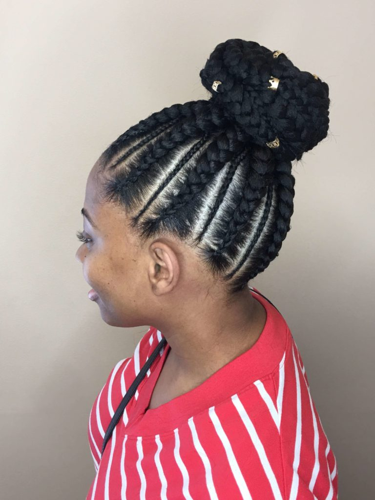 Goddess Cornrow Braids