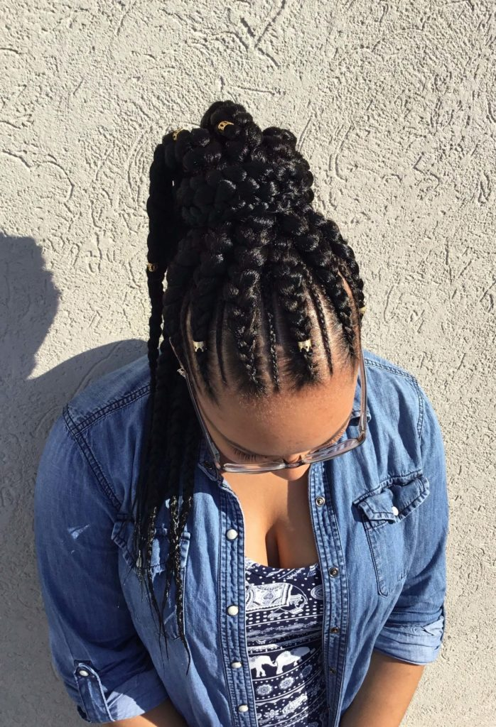 25 Stunning Goddess Braids Hairstyles