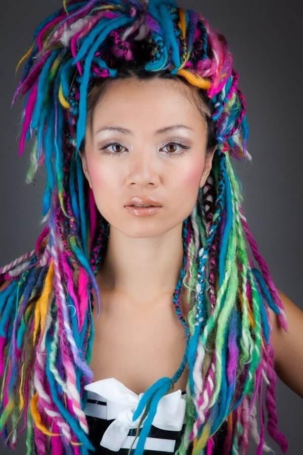 Color Box Braids