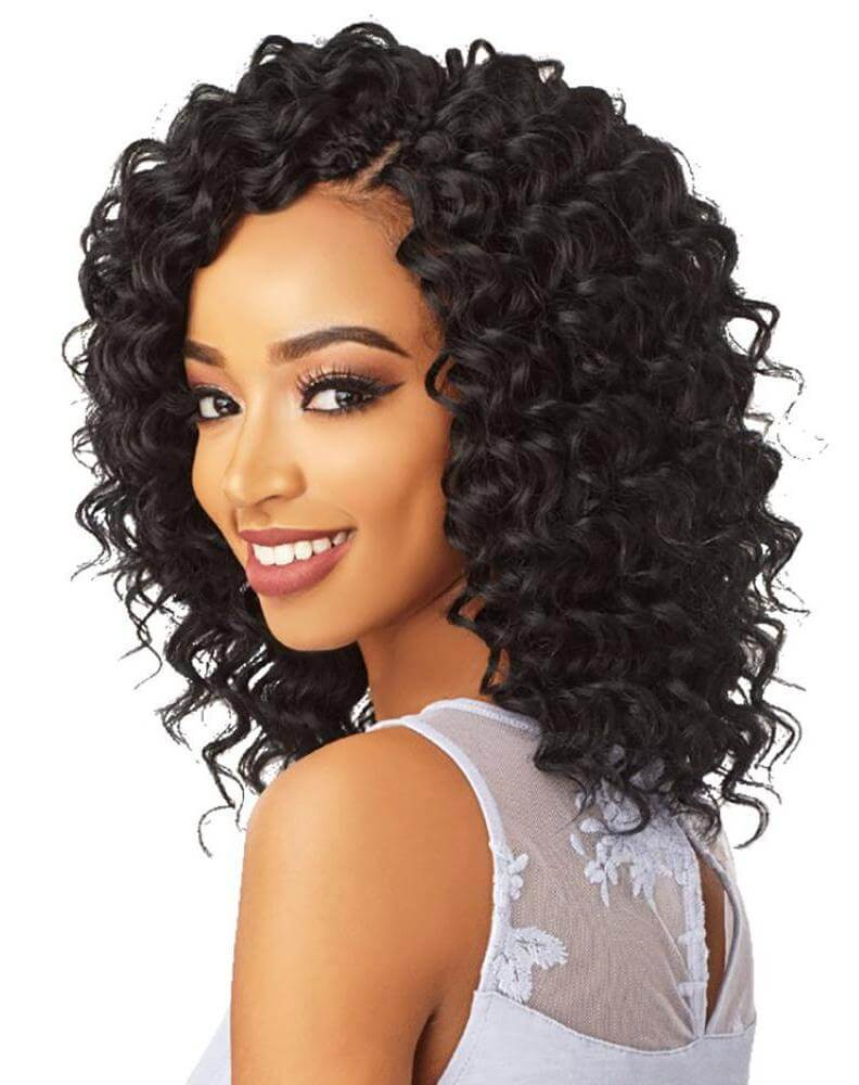 Twisted Crochet Braids