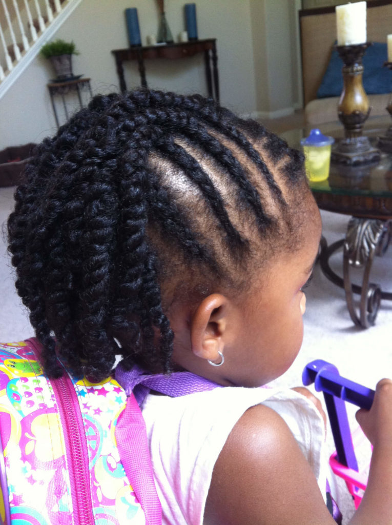 Crochet Braids for Little Girl