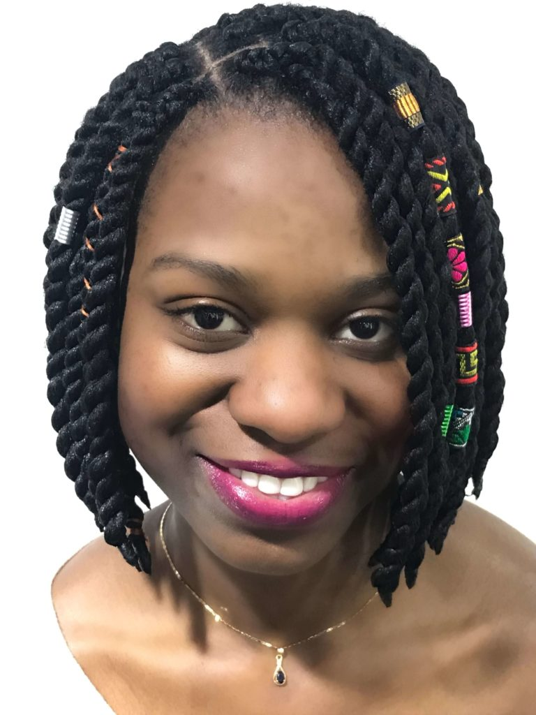 Cornrow Braids with Bob Cut