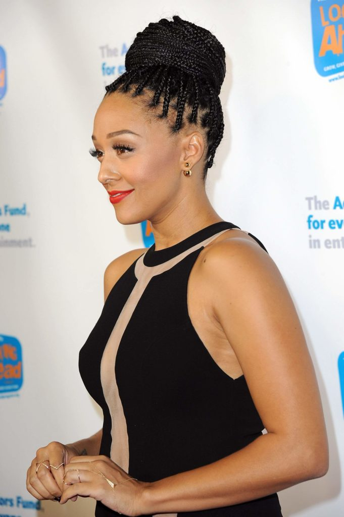 Simple Cornrow Bun
