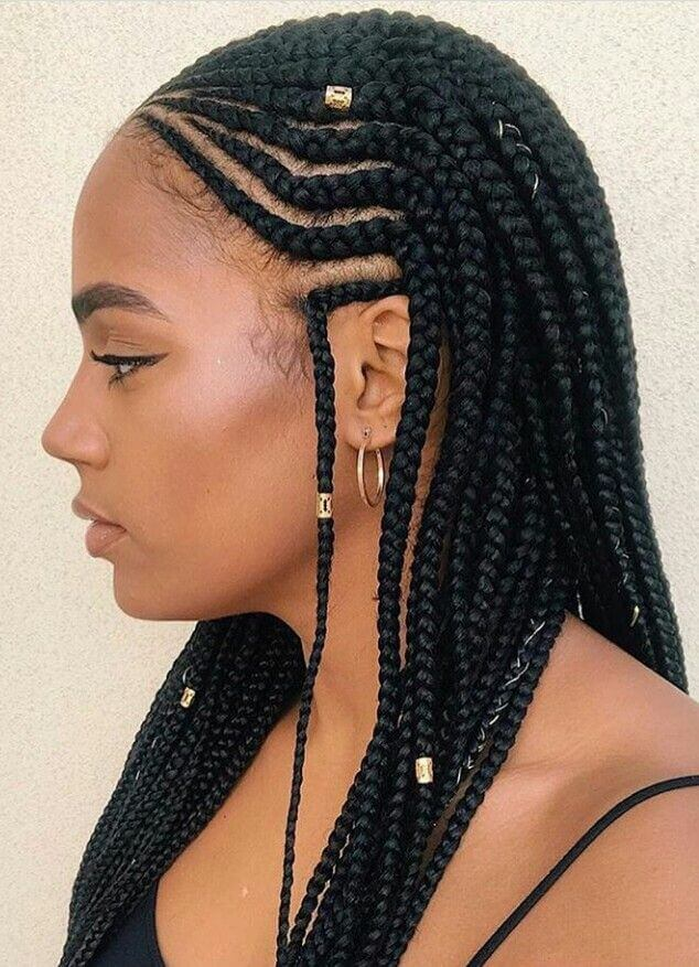 Protective Cornrow Braids