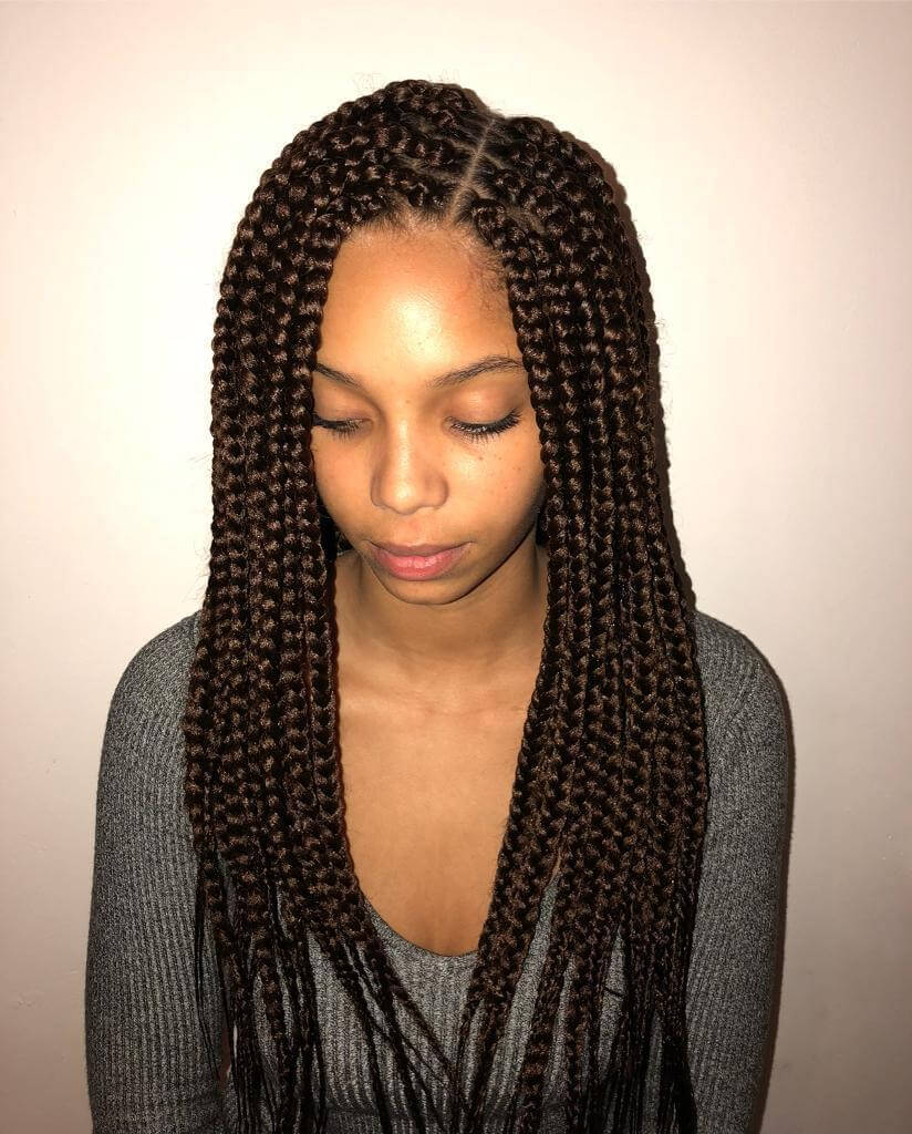 85 Unique And Attractive Box Braids Hairstyles To