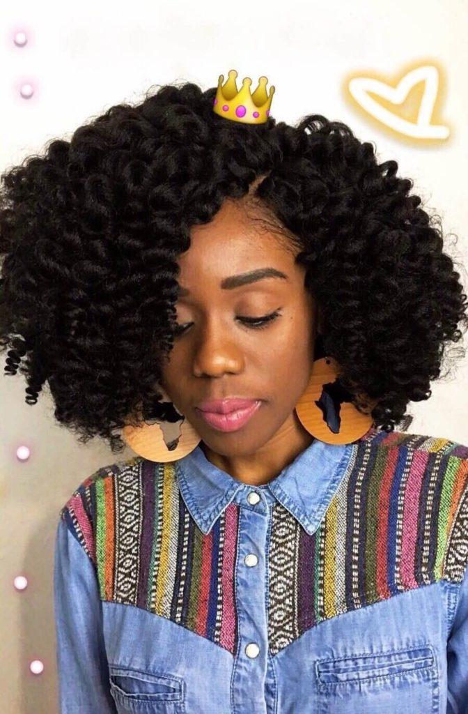 Wand Curl Crochet Braids