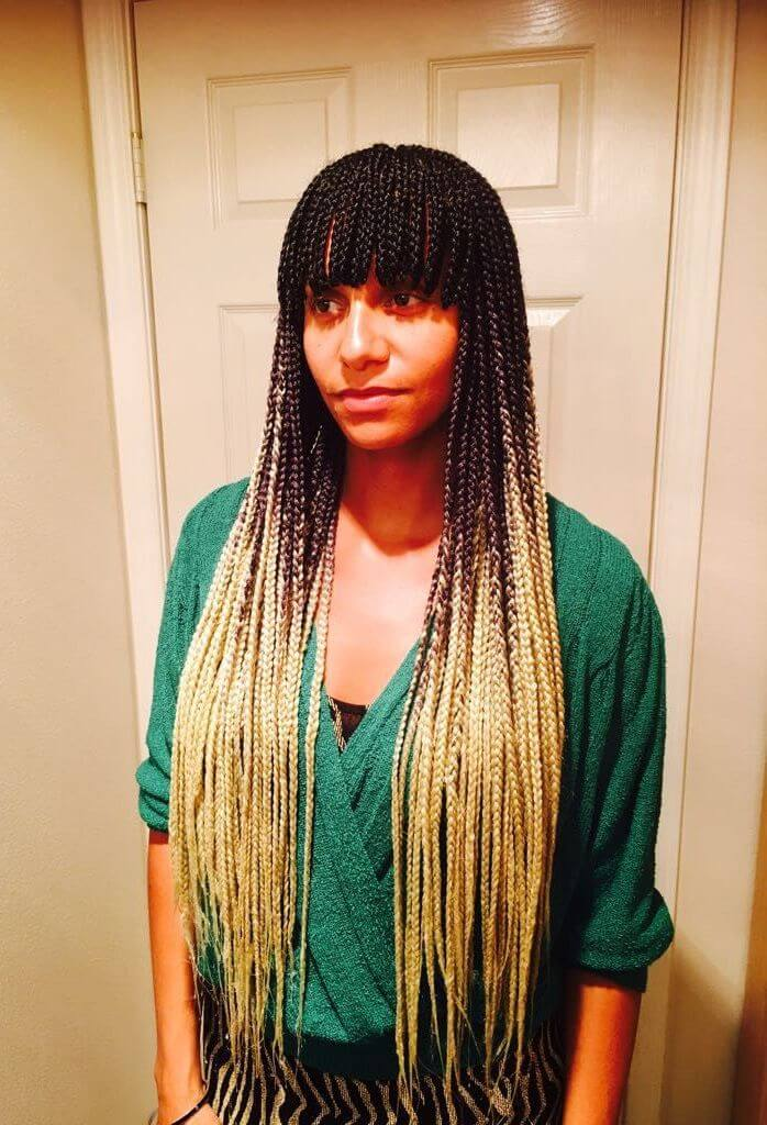 85 + Unique and Attractive Box Braids Hairstyles to ...