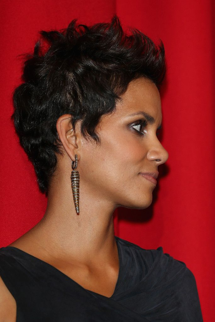 Updo black hairstyle