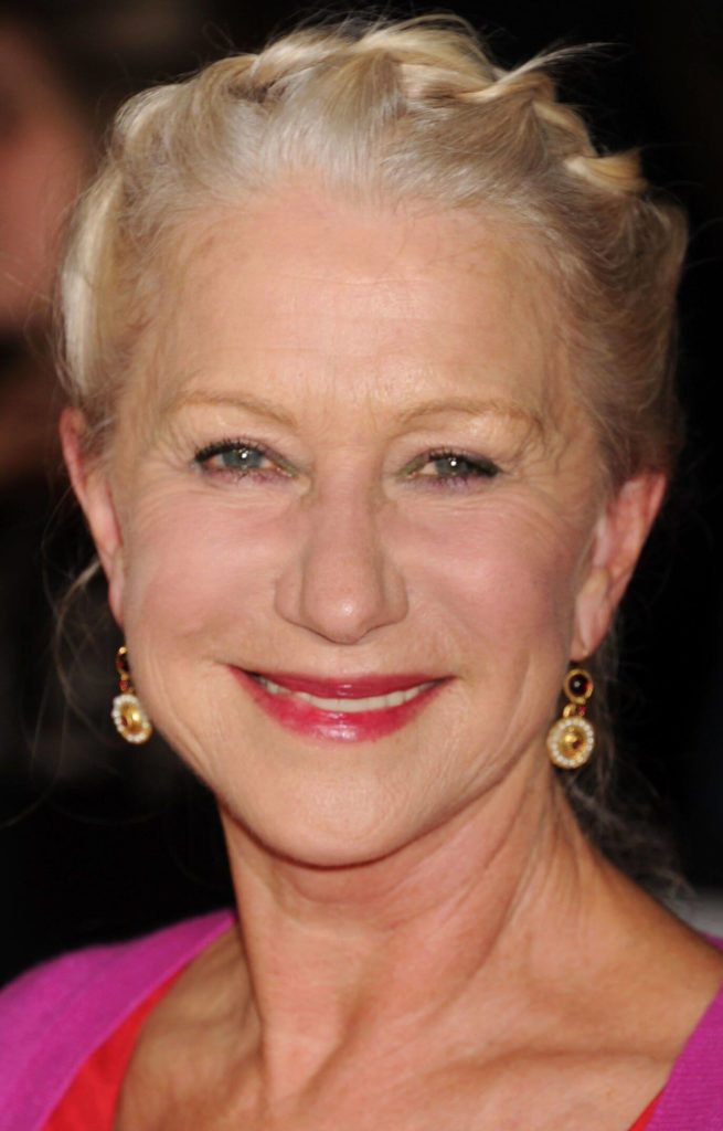 Helen Mirren Hairstyles for Women Over 50