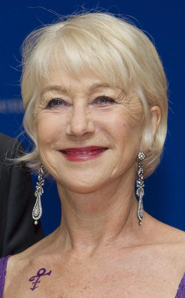 55 Helen Mirren Hairstyles For Women Over 50