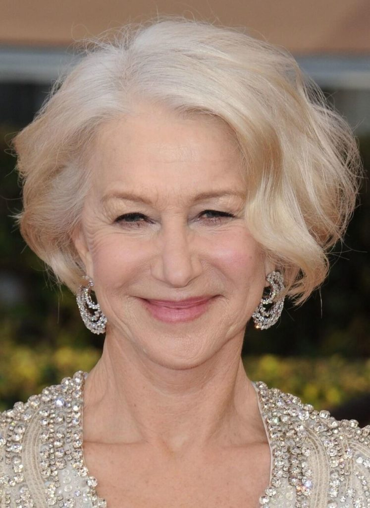 55 Helen Mirren Hairstyles For Women Over 50