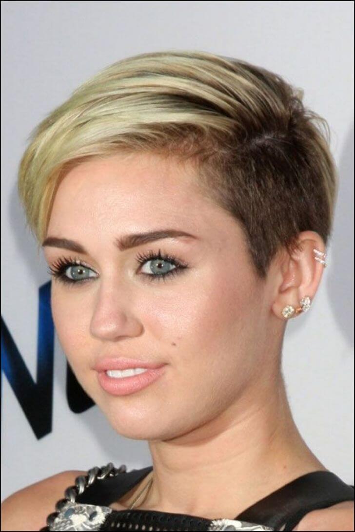 Miley Cyrus Medium Blonde Hair