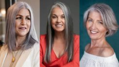 58 Sophisticated Silver Hairstyles for Women over 50