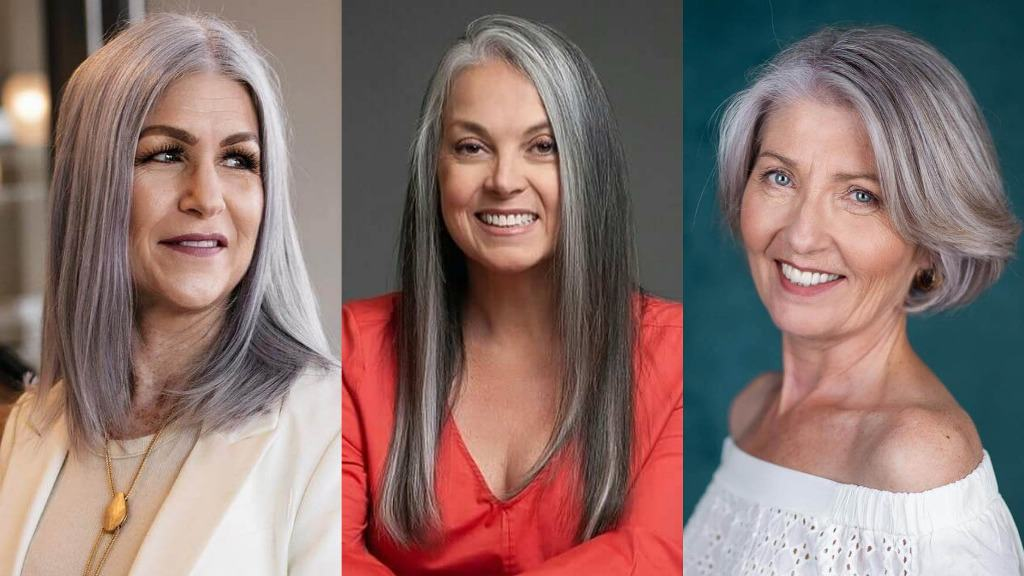 58 Silver Hairstyles For Women Over 50