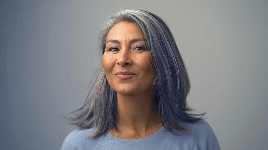 best colorful hairstyles for women over 50