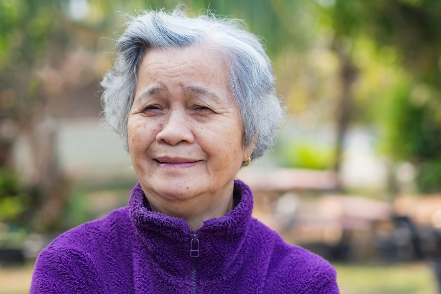 women over 50 with silver hair
