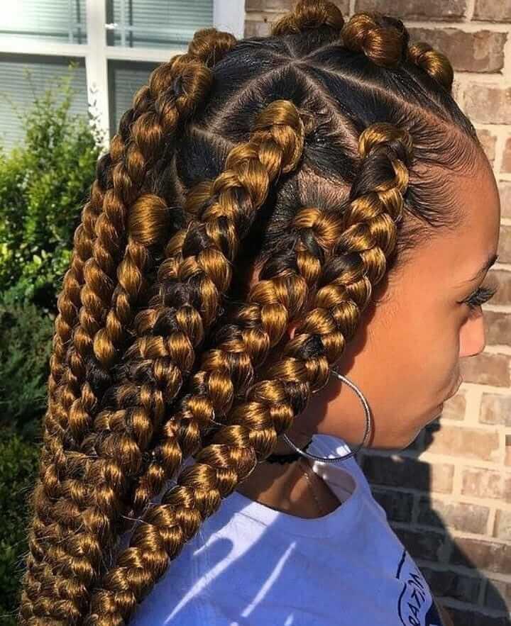 Tree Braids Hairstyles