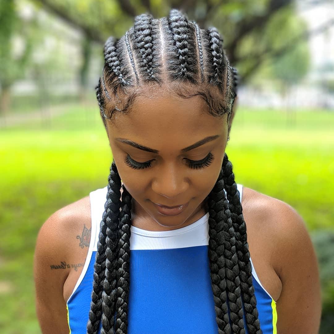 Six Ghana Braids