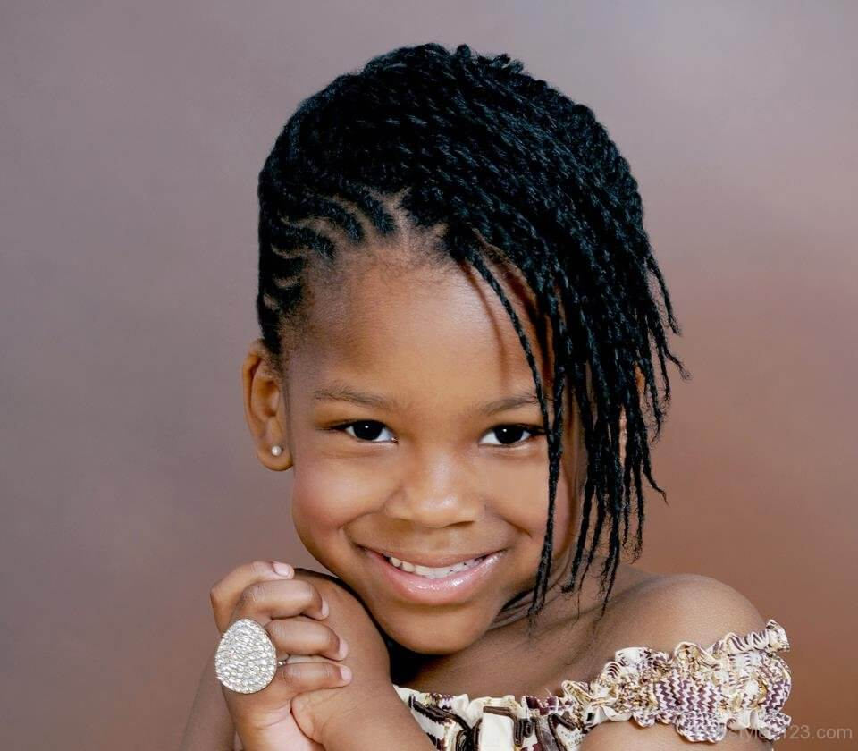 Afro Braids for Kids