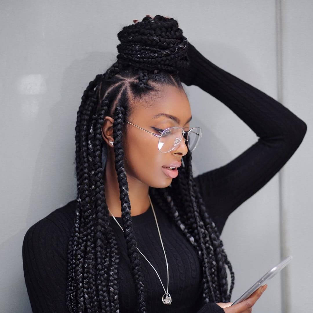 Big Braids Hairstyles